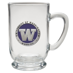 University of Washington Clear Coffee Cup - Enameled