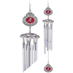 2012 BCS National Champions Alabama Crimson Tide Wind Chime - Enameled
