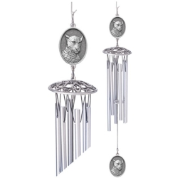 "Leopard 24"" Wind Chime"