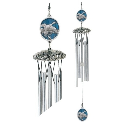 "Pintail Duck 24"" Wind Chime - Enameled"