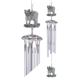 """Tiger 24"""" Wind Chime"""