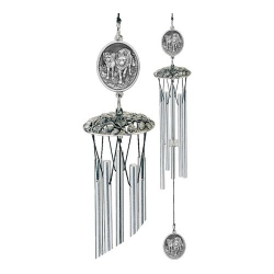 "Wolves 24"" Wind Chime"
