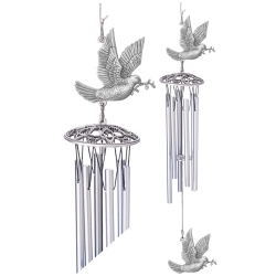 "Dove 24"" Wind Chime"