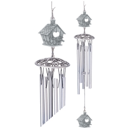 "Birdhouse 24"" Wind Chime"