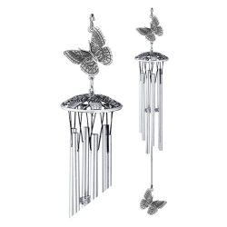 "Butterfly 24"" Wind Chime"