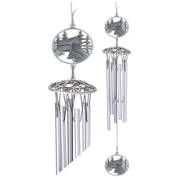 "Covered Bridge 24"" Wind Chime"