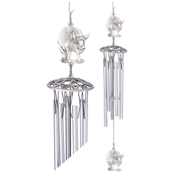 """Pig 24"""" Wind Chime"""