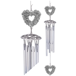 "Rose 24"" Wind Chime"