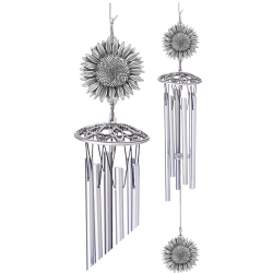 "Sunflower 24"" Wind Chime"