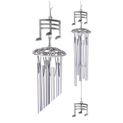 "Musical Notes 24"" Wind Chime"