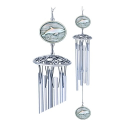 "Dolphin 24"" Wind Chime"