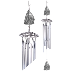 "Sail Boat 24"" Wind Chime"