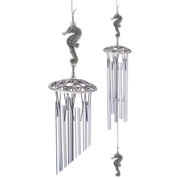 """Seahorse 24"""" Wind Chime"""