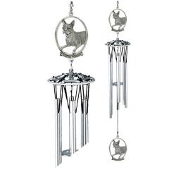 "Boston Terrier 24"" Wind Chime"