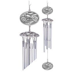 "Motorcycle 24"" Wind Chime"