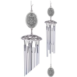 """Naval Academy """"Crest"""" 24"""" Wind Chime"""