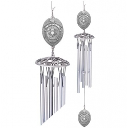 "Law Enforcement 24"" Wind Chime - Enameled"