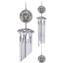 "Navy 24"" Wind Chime"