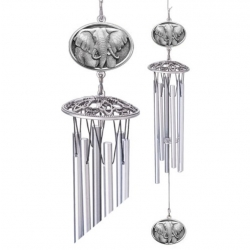 "Elephant 24"" Wind Chime"