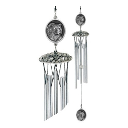 "Grizzly Bear 24"" Wind Chime"