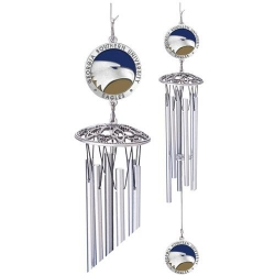 "Georgia Southern University 24"" Wind Chime - Enameled"