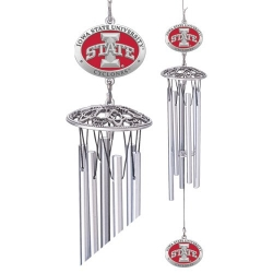 "Iowa State University ""I"" 24"" Wind Chime - Enameled"
