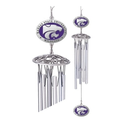 "Kansas State University 24"" Wind Chime - Enameled"