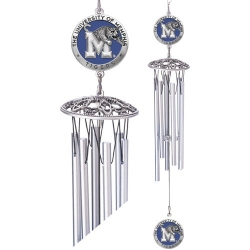 "University of Memphis 24"" Wind Chime - Enameled"