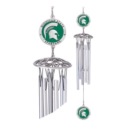 "Michigan State University 24"" Wind Chime - Enameled"