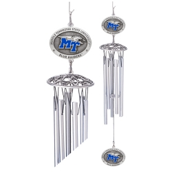 "Middle Tennessee State University 24"" Wind Chime - Enameled"