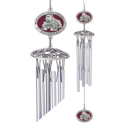 "Mississippi State University ""Bulldogs"" 24"" Wind Chime - Enameled"