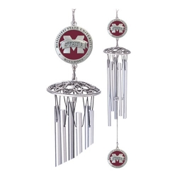"Mississippi State University ""M"" 24"" Wind Chime - Enameled"