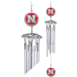 "University of Nebraska 24"" Wind Chime - Enameled"