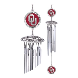 "University of Oklahoma ""OU"" 24"" Wind Chime - Enameled"