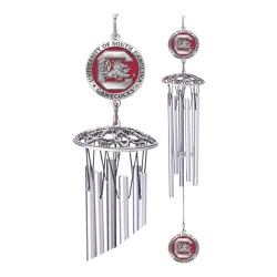 "University of South Carolina ""Gamecocks"" 24"" Wind Chime - Enameled"
