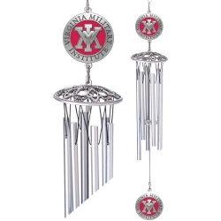 "Virginia Military Institute 24"" Wind Chime - Enameled"