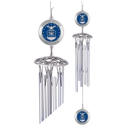 "Air Force 24"" Wind Chime - Enameled"