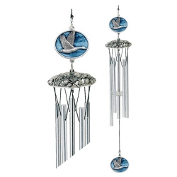 "Canadian Goose 24"" Wind Chime - Enameled"