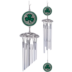 "Clover 24"" Wind Chimes - Enameled"