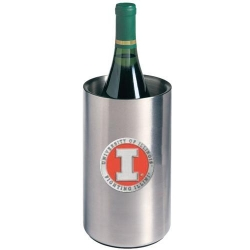 University of Illinois Wine Chiller - Enameled