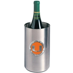University of Miami Wine Chiller - Enameled