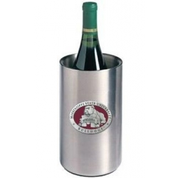 "Mississippi State University ""Bulldog"" Wine Chiller - Enameled"
