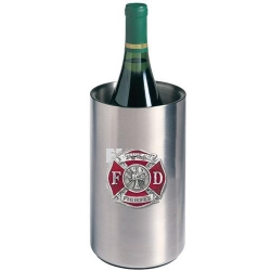 Firefighter Wine Chiller - Enameled