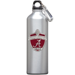2015 CFP National Champions Alabama Crimson Tide Water Bottle  - Enameled