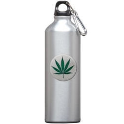 Marijuana Water Bottle - Enameled