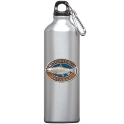 King Salmon Water Bottle - Enameled