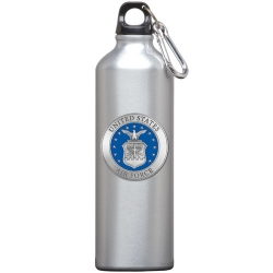 Air Force Water Bottle - Enameled