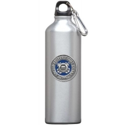 Coast Guard Water Bottle - Enameled