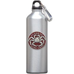 King Crab Water Bottle - Enameled