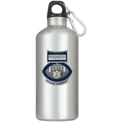 2010 BCS National Champions Alabama Crimson Tide Water Bottle  - Enameled - Football